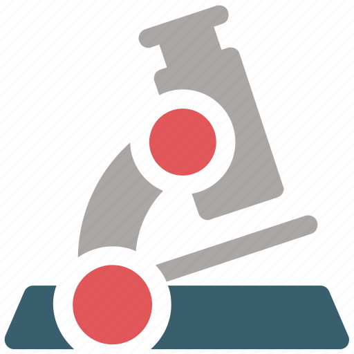 lab, medical, microscope icon icon