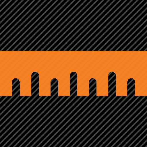measure, measurement, ruler, scale icon icon