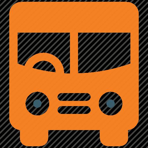bus, school, school bus, vehicle icon icon