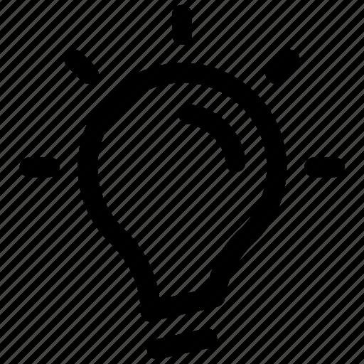 blub, bright, idea, lightbulb, solution icon icon
