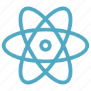 atom, electron, science icon icon
