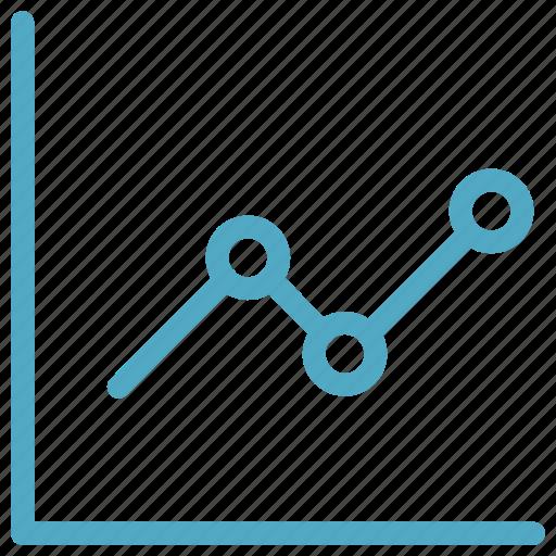 arrow, education, graph, online icon icon