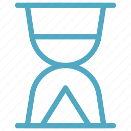 clock, glass, hour, hourglass, loading, sandclock, sandglass, timer icon icon