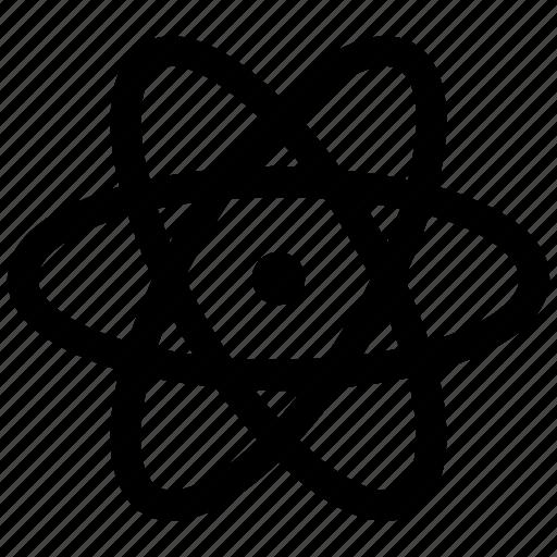 atom, electron, science icon icon