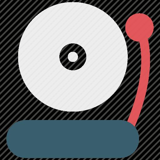 alarm, bell, school icon icon