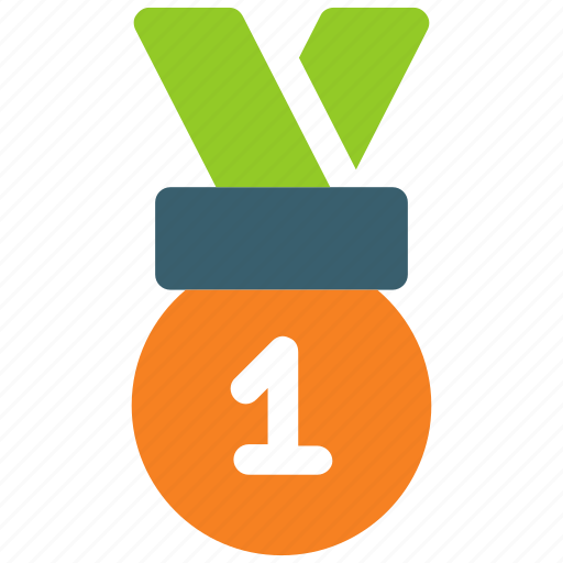 award, champion, education, gold, medal, prize, winner icon icon