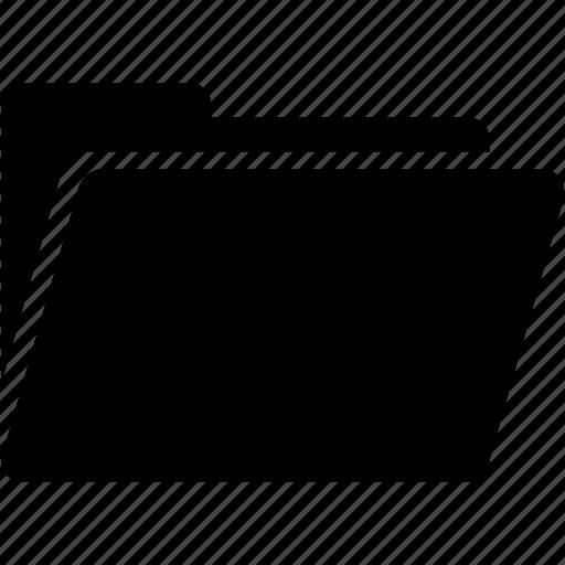 archive, folder, folder open icon