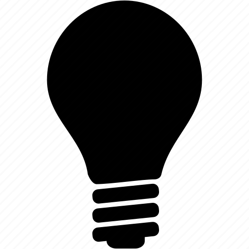 conception, hypothesis, idea, imagination, light bulb, theory, thought, vision icon