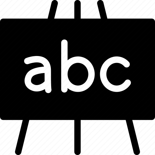 blackboard, chalkboard, dry-wipe board, greaseboard, markerboard, pen-board, whiteboard icon