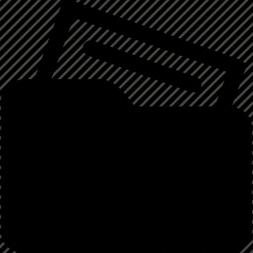 document, file, file folder, folder, note, paper, sheet icon