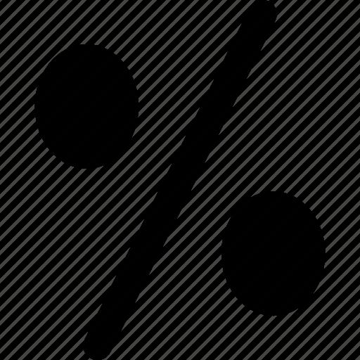 percent, percent sign, percentage, percentage sign, ratio icon