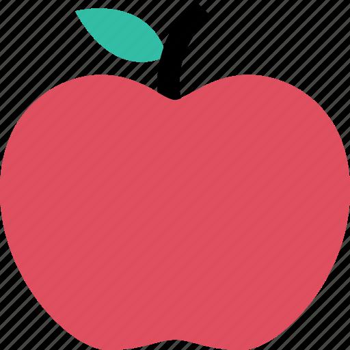 apple, staff, teacher icon