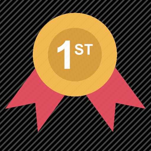 award, one, ribbon, school icon