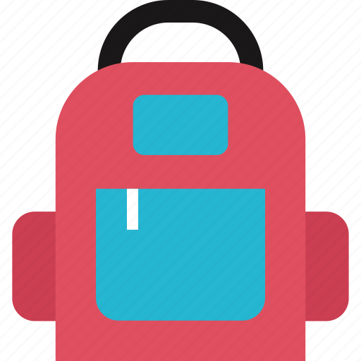 accessory, backpack, education icon