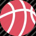 ball, basketball, play icon