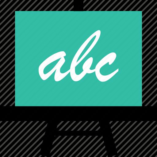 abc, board, learn, school icon