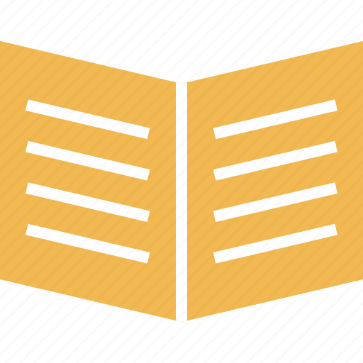 book, education, open, school icon