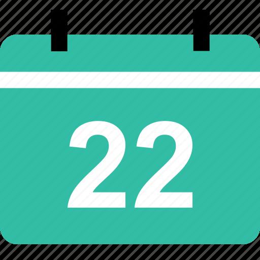 calendar, event, learning, twenty icon