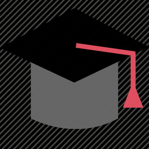 cap, graducation, student icon