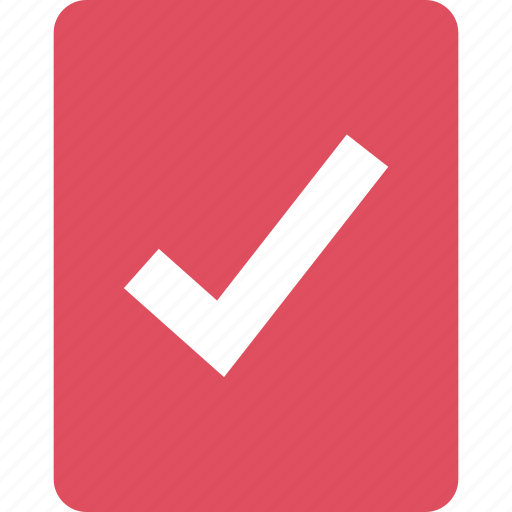 Check, mark, ok, school icon - Download on Iconfinder