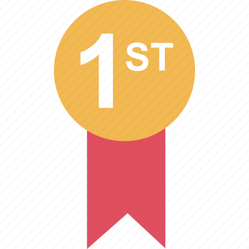 award, first, learning, place icon