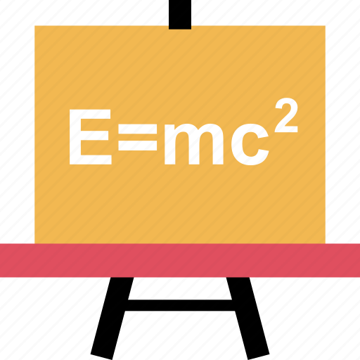 board, formula, learn icon