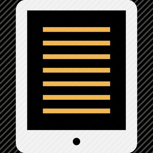 homework, ipad, online icon
