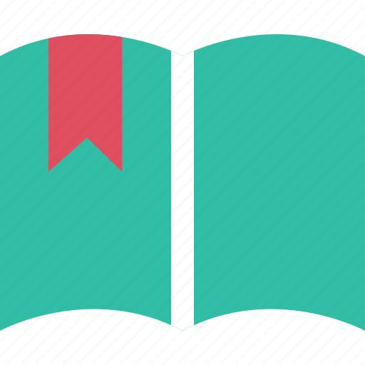 Book, bookmark, ribbon icon - Download on Iconfinder