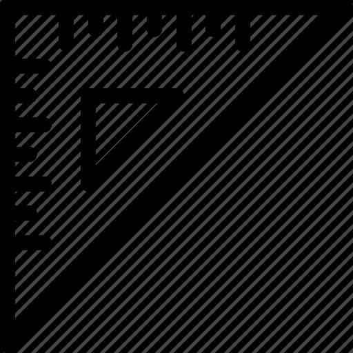 measure, ruler, scale icon