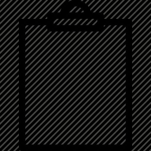 clipboard, office, school icon