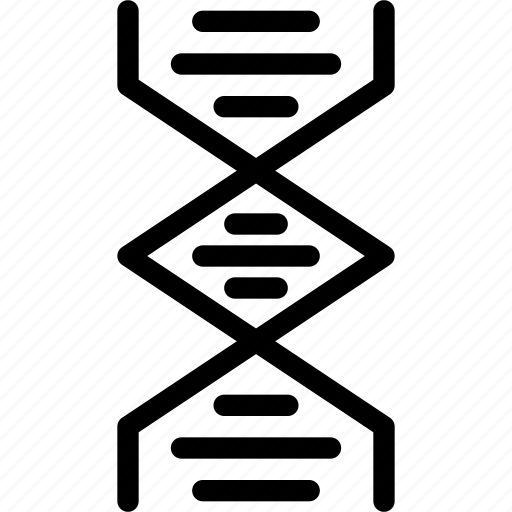 biochemistry, chain, dna, gene, helix, structure icon