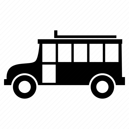 minibus, transport, van, vehicle icon
