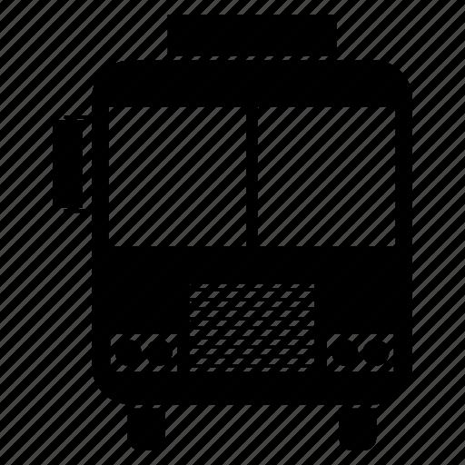 bus, charabanc, coach, motorbus, motorcoach, passenger vehicle, public transport icon