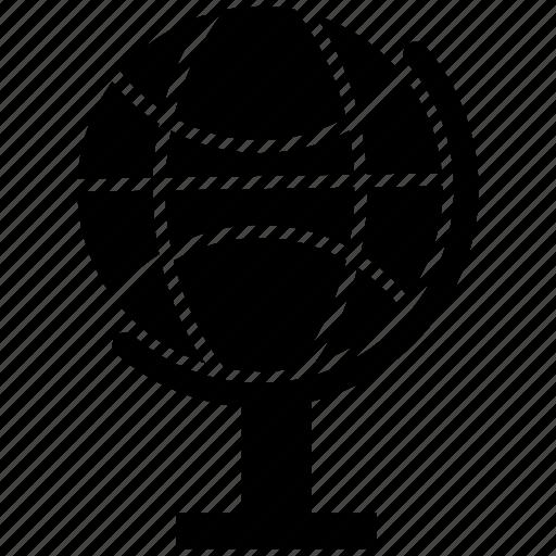 earth, earth globe, globe, school globe icon