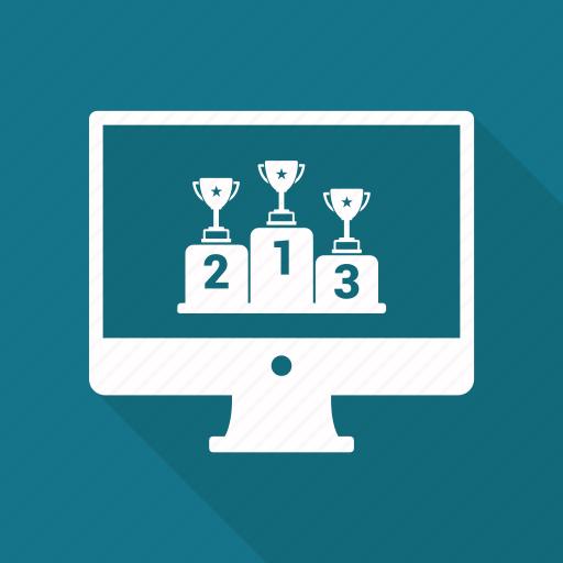 Award, monitor, online, website, winning icon - Download on Iconfinder