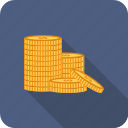 coin, dollar, money, sign icon