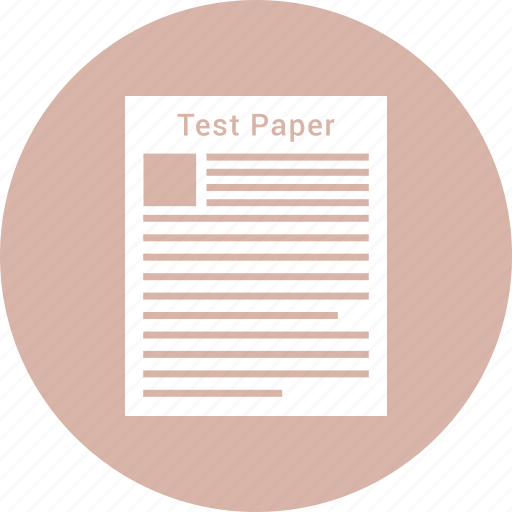 document, documents, paper, test icon