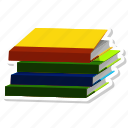 book, education, learning, note book, reading, study icon