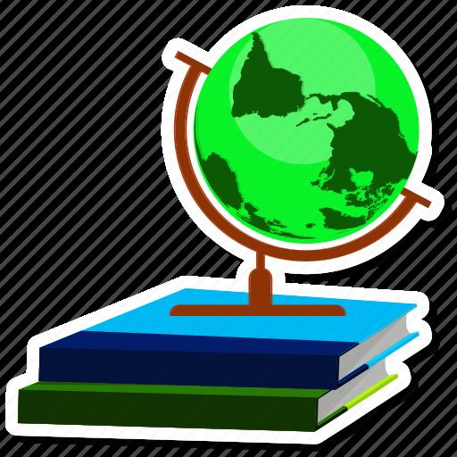 book, earth, education, globe, learning, web, world icon