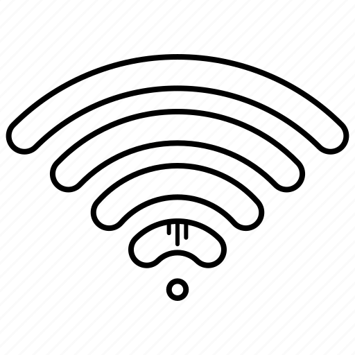 connection, education, signals, study, wifi icon