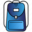 bag, education, learning, school, study icon