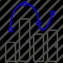 chart, diagram, education, graph, school, study icon