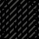 pen, pencil, ruler, school icon icon