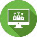 award, online, website, winning icon