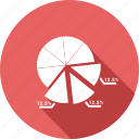 analysis, chart, pie, statistics icon