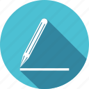 draw, edit, note, pencil, stationery, write, writing icon