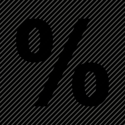 pct, percent sign, percentage, percentage sign icon