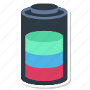 battery, charge, charging, energy, powerups icon
