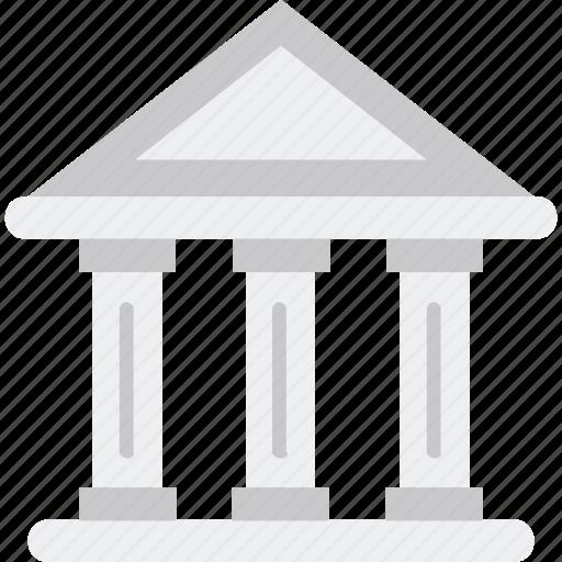 apex court, bank, building, court, court building icon icon