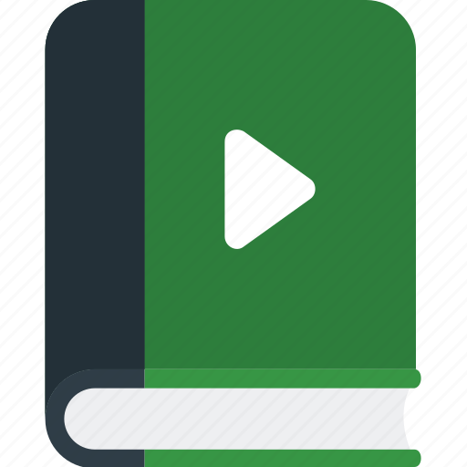 audio book, audio sign icon, book, ebook icon
